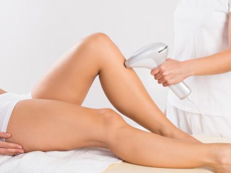 Permanente ontharing onder- of bovenbenen dames 5 beurten