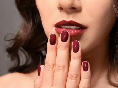 Gelish manicure 45min
