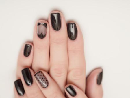 Gelnagels (eigen nagels) + Nailart