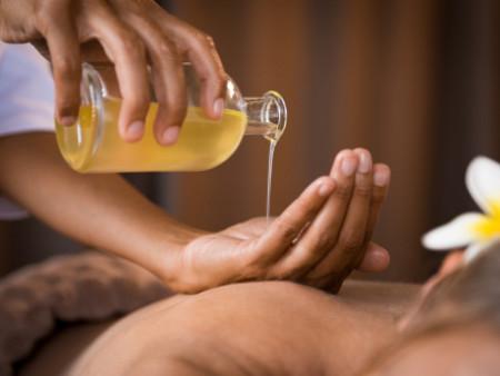 Raindrop massage 60min
