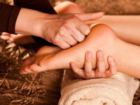 Reflexologie massage 60min.