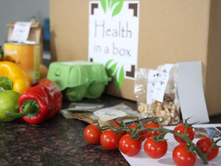 """Getest: koolhydraatarme maaltijdbox van """" Health in a box """""""